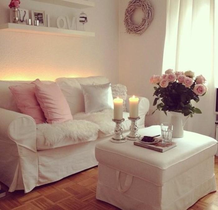 wohnzimmer ideen rosa ~ inspirierende bilder von wohnzimmer dekorieren