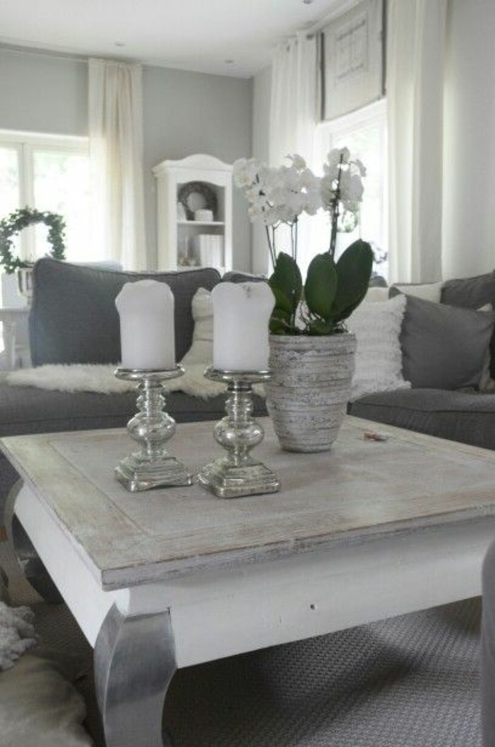Silber Deko Wohnzimmer ~ Wohndesign Ideen
