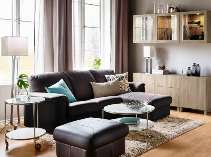 Wohnzimmer Gardinen Ideen Für Ihre Wohnung ...