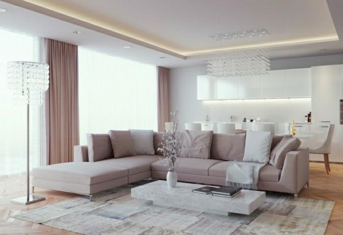 wohnzimmer-gardinen-ideen-fur-elegantes-wohnzimmer