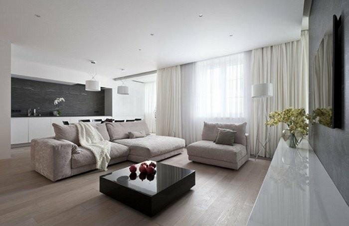 Wohnzimmer Schwarz Hochglanz