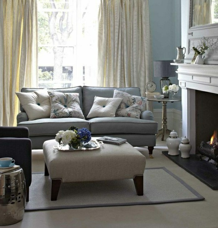 Wohnzimmer Gardinen Ideen Fur Klassische Gestaltung