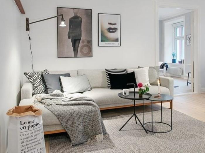 Wohnzimmer Gestalten Beige Ein Sofa Und Noch Sessel Gehren In Jedes So Kleine