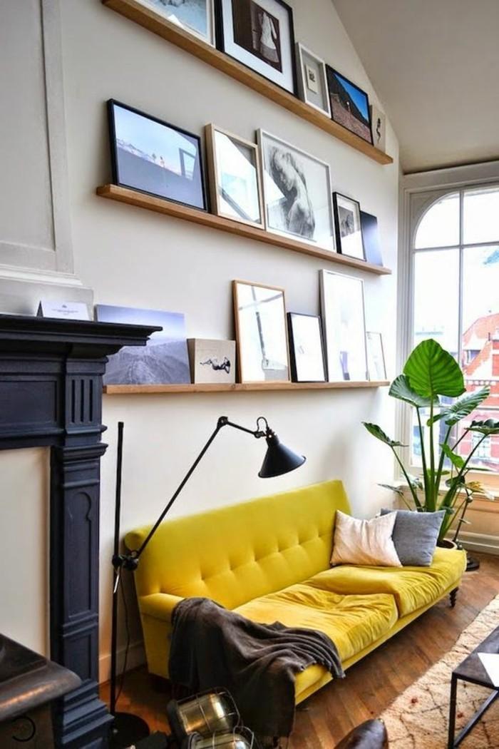 wohnzimmer-mobel-in-gelbe