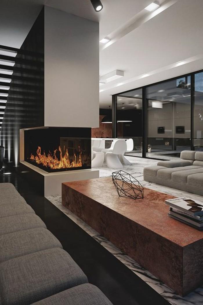 Moderne Wohnzimmer punkten durch eine flexible und zeitlose ...
