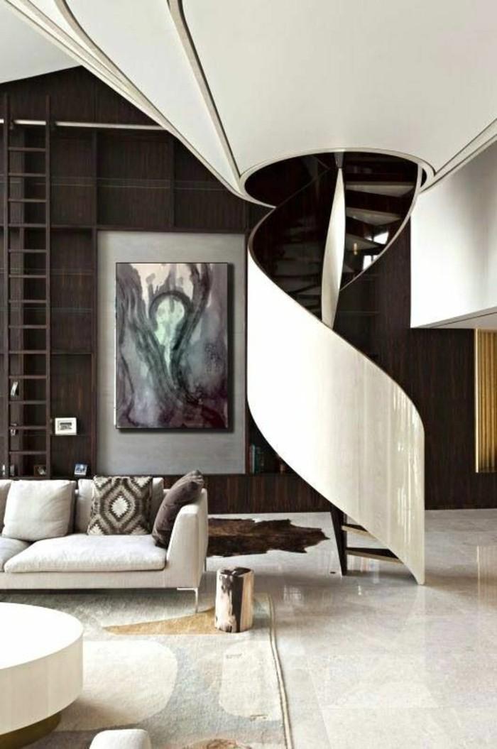 wohnzimmer modern einrichten grau einrichten und wohnen