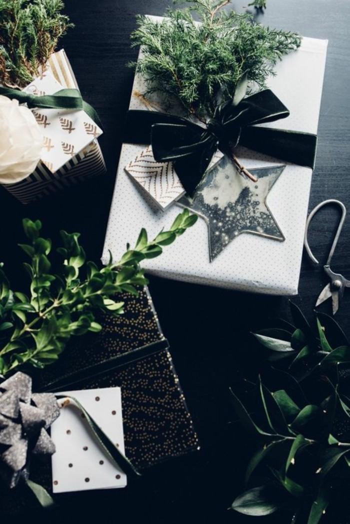 11-geschenkverpackung-verpackung-basteln-schwarze-schleife-sterne-zweige
