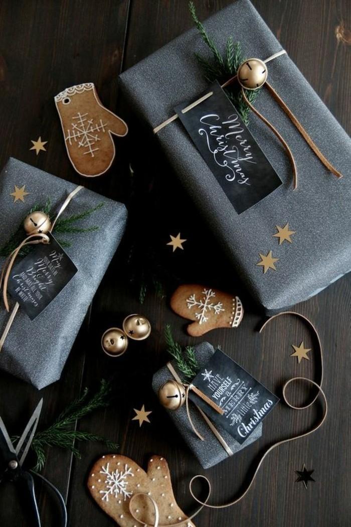 12-geschenkverpackung-verpackungen-basteln-graue-verpackung-mit-zweigen-und-keks