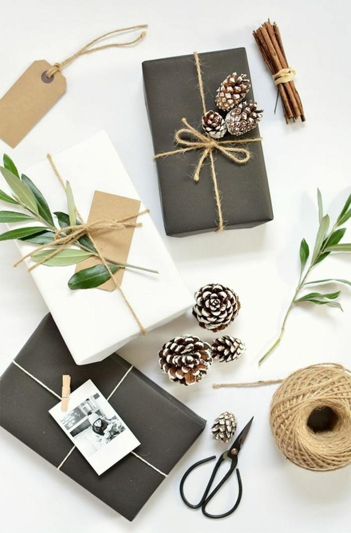 3-geschenkverpackung-verpackung-basteln-schwaze-verpackung-zapfen-zweige