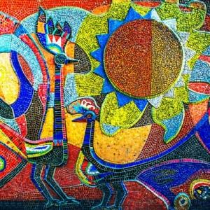 Mosaik basteln - prachtvolle Kunstwerke schaffen