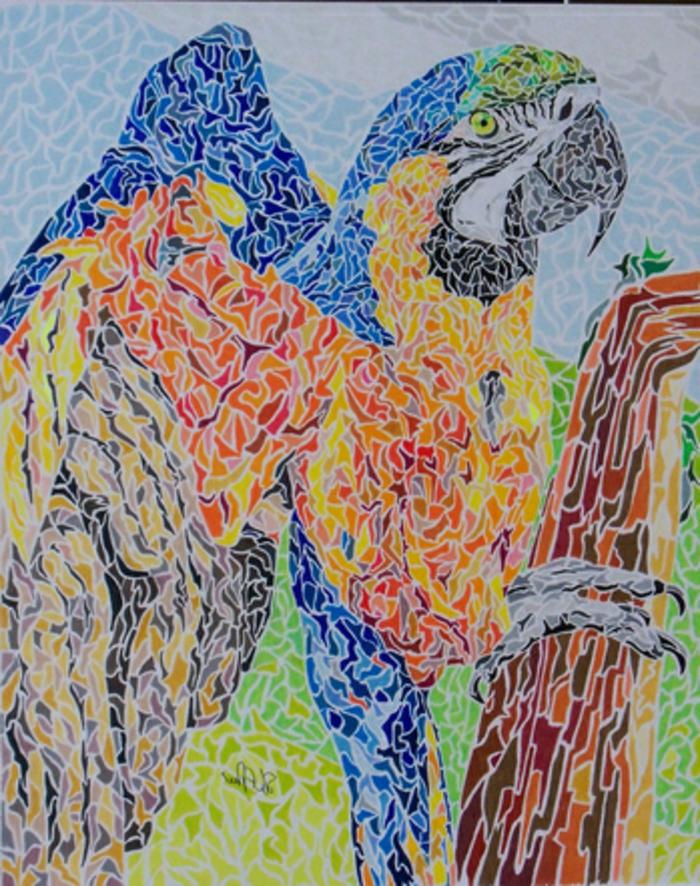 3schone-mosaikbilder-mit-tieren-mosaiksteine-in-verschiedenen-farben-mosaiksteine-verschiedener-grose