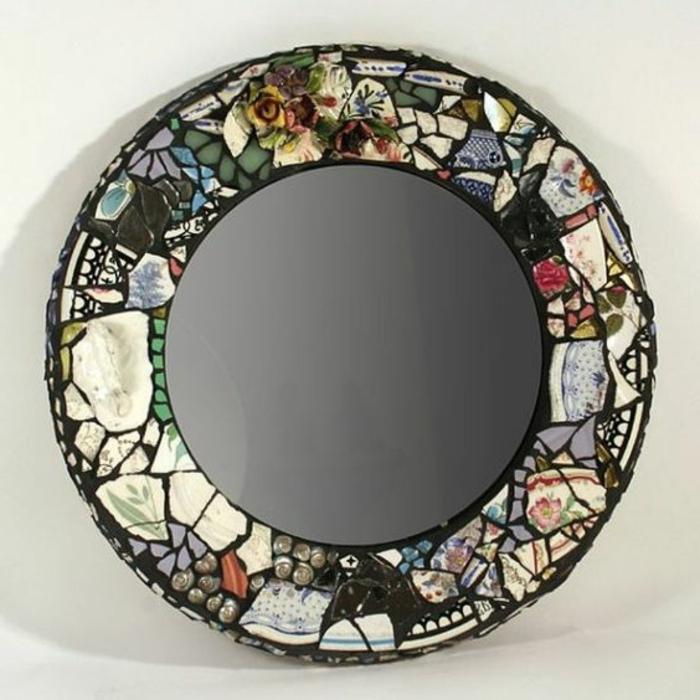 Mosaik Spiegel Basteln