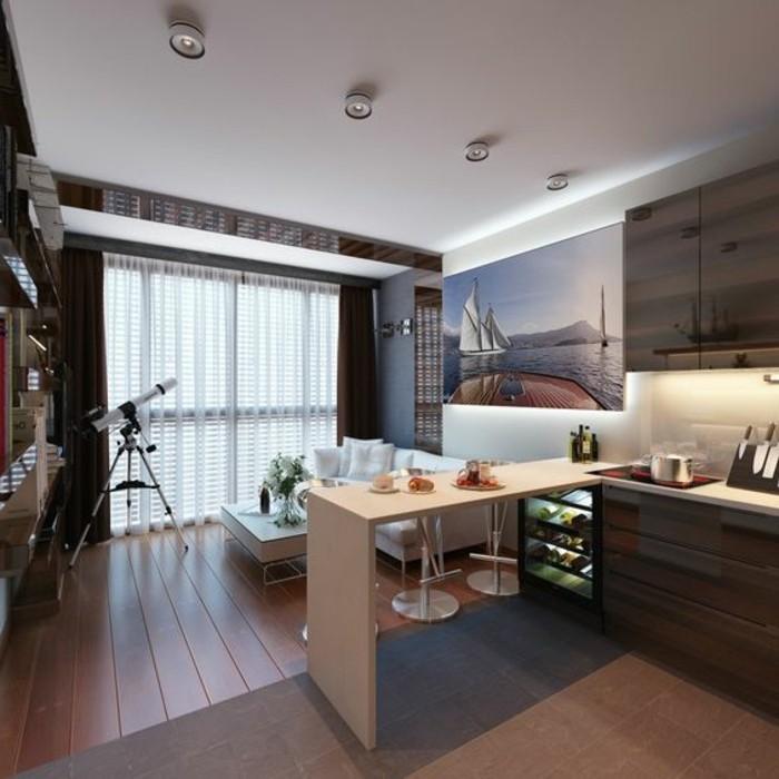 4-einzimmerwonung-in-hellbraun-und-braun-kueche-tisch-weisser-sofa