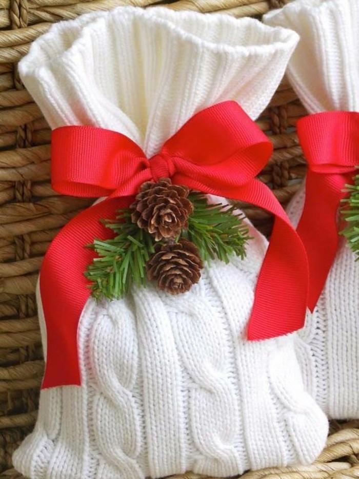 4-geschenkverpackung-verpackung-basteln-rote-schleife-zapfen-zweige