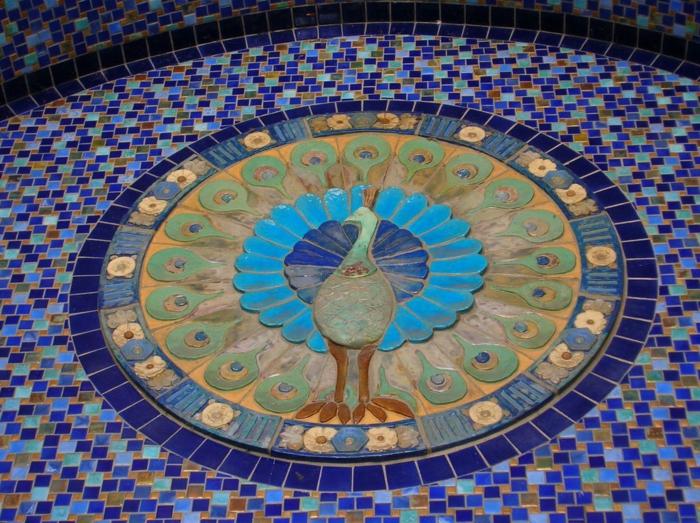 Mosaik basteln prachtvolle kunstwerke schaffen - Blattgold zum basteln ...