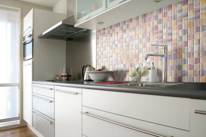 beautiful fliesen mosaik k che pictures house design