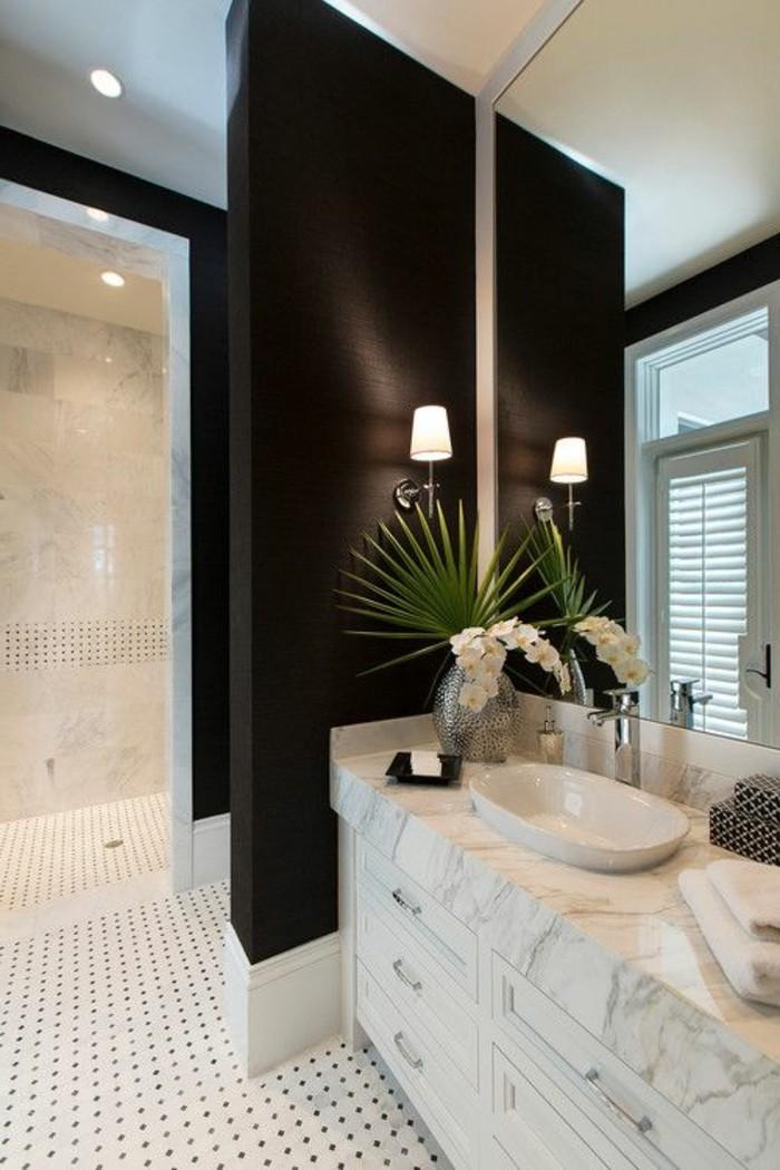 8-badezimmer-deko-moderne-bader-badezimmer-in-schwarz-und-weis-blumen