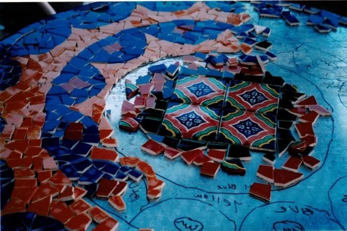 Mosaik Basteln Prachtvolle Kunstwerke Schaffen Archzinenet - Mosaik fliesen marokko