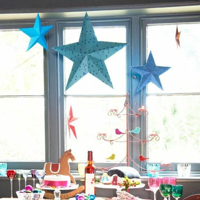 fensterbilder-zu-weihnachten-fensterdeko-kinder-selbst-machen