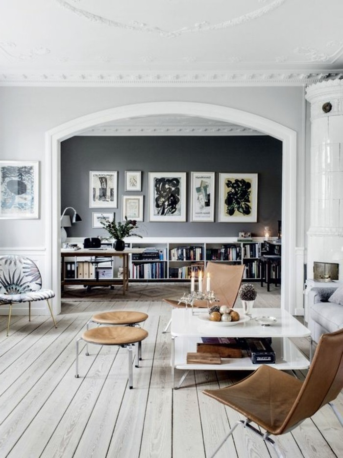 wohnzimmer grau weis steine nifty on moderne deko idee auch die ... - Wohnzimmer Farblich Gestalten Grau