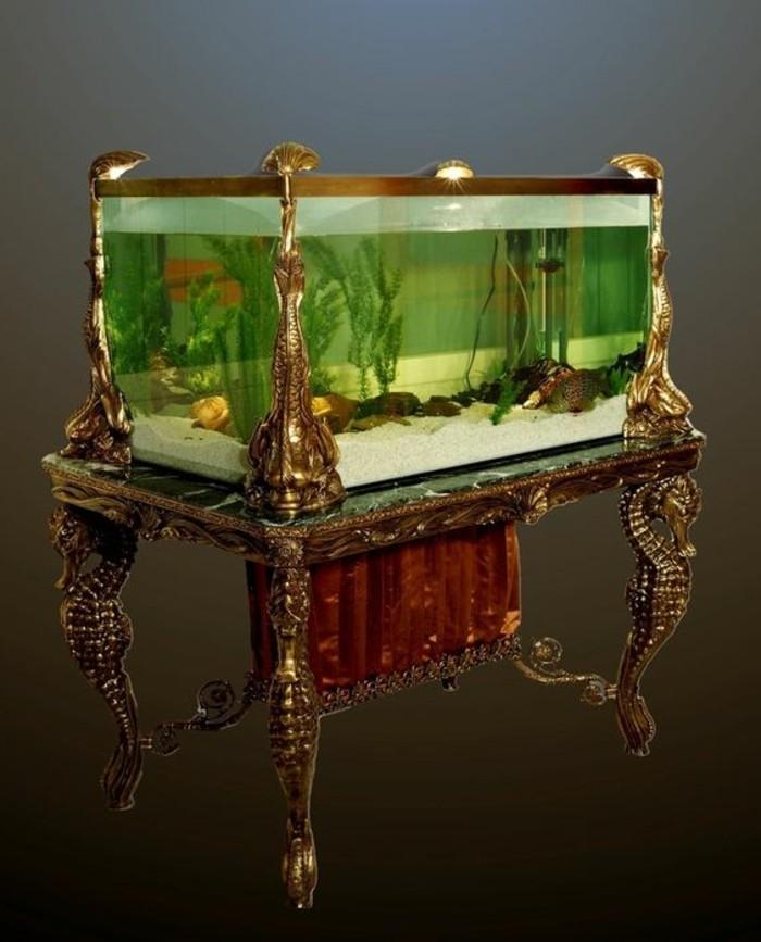 aquarium-gestaltung-eleganter-tisch-indirektes-licht-pflanzen-weiser-sand-seepferdchen