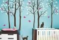 Wandtattoo für Kinderzimmer – 73 Super Ideen!