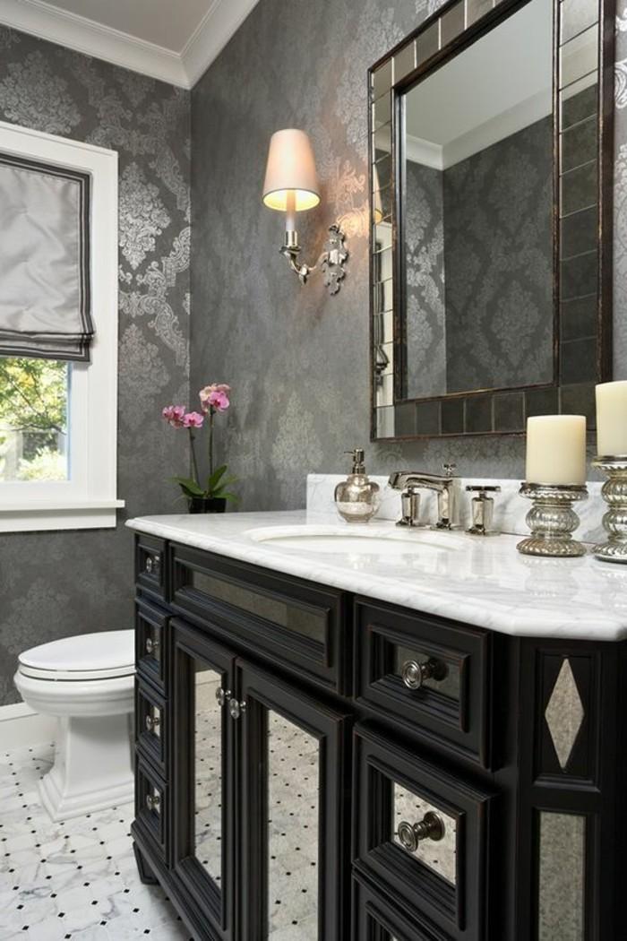 badezimmer deko grau. Black Bedroom Furniture Sets. Home Design Ideas