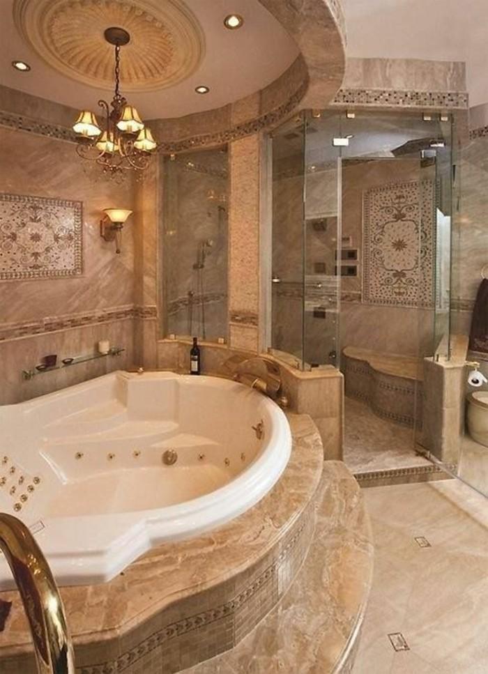 badezimmer-deko-badgestaltung-in-hellbraun-modern-badewanne