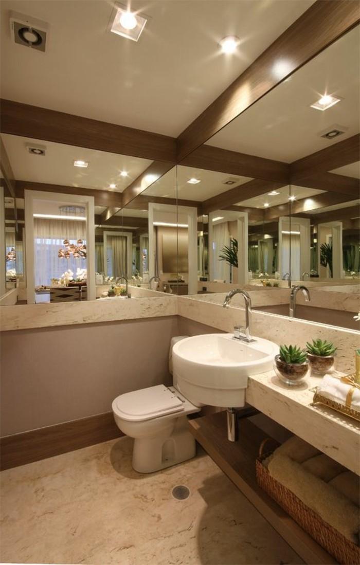 Badezimmer deko ideen - Badgestaltung mit pflanzen ...