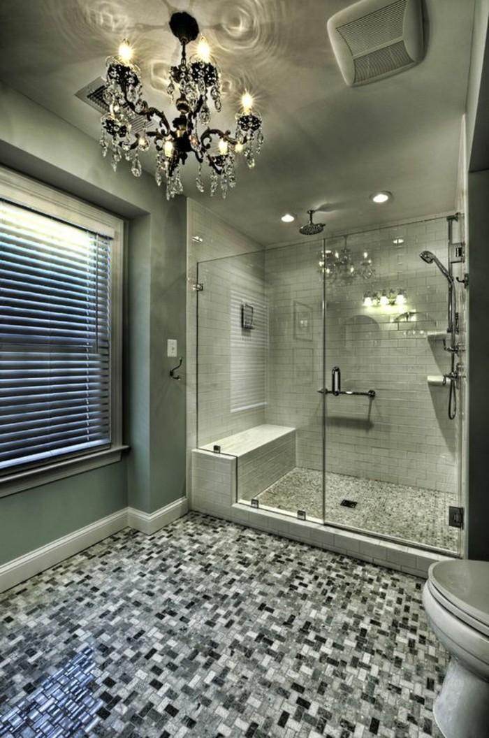 badezimmer-deko-moderne-bader-badezimmer-in-brau-kronleuchter-aus-kristall