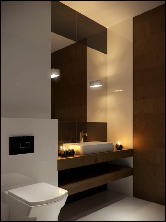 Badezimmer Deko Moderne Bader Badezimmer In Braun Und