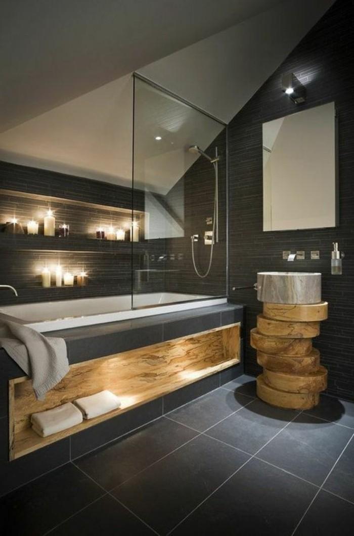 badezimmer-deko-moderne-bader-badezimmer-in-grau-mit-holz-und-kerzen