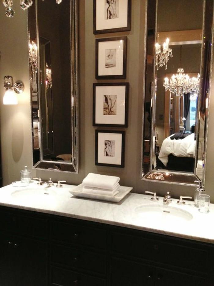 Badezimmer deko moderne bader badezimmer in schwarz und