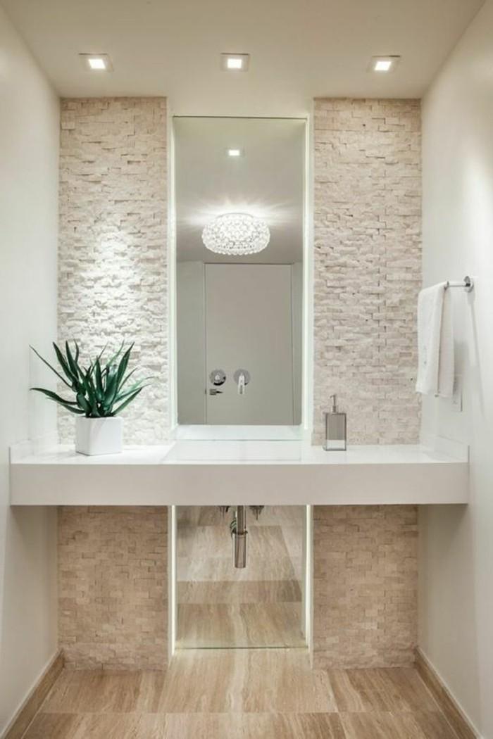 Badezimmer deko ideen - Salle de bain toute blanche ...