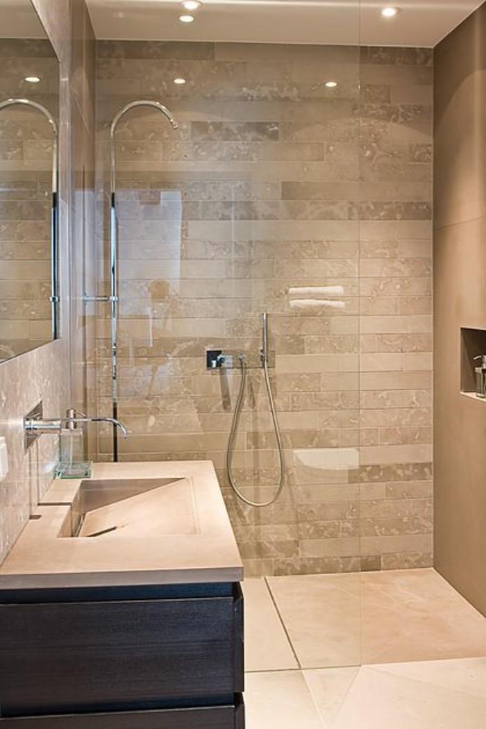 Badgestaltung Ideen Moderne Bader Badezimmer In Braun Und