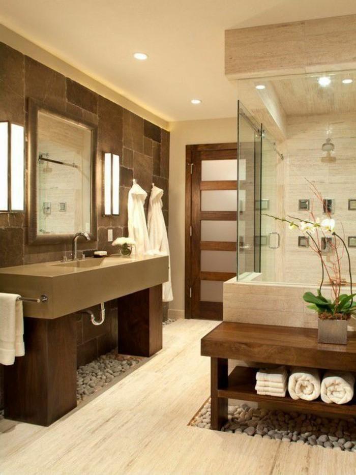 4. Badgestaltung Ideen Für Jeden Geschmack. Badezimmer Fliesen Braun Und  Beige ...