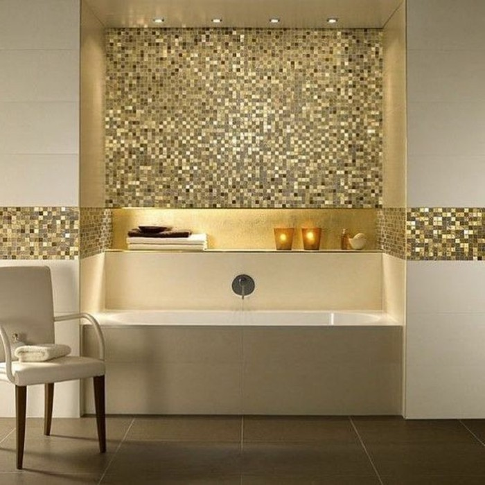 Badgestaltung Ideen Traumbader Badezimmer In Beige Mit Mosaikflisen