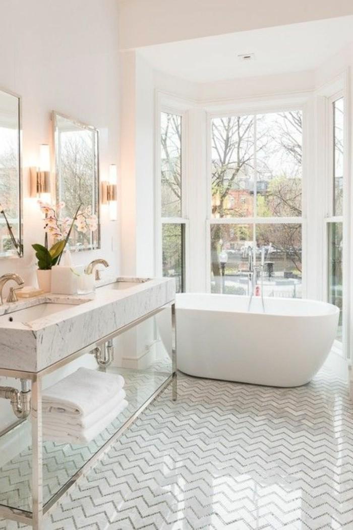 Badgestaltung ideen f r jeden geschmack - Badezimmer fenster glas ...