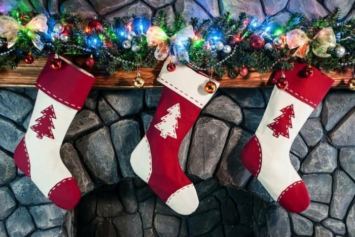 lustiges girlande basteln f r weihnachtliche deko. Black Bedroom Furniture Sets. Home Design Ideas