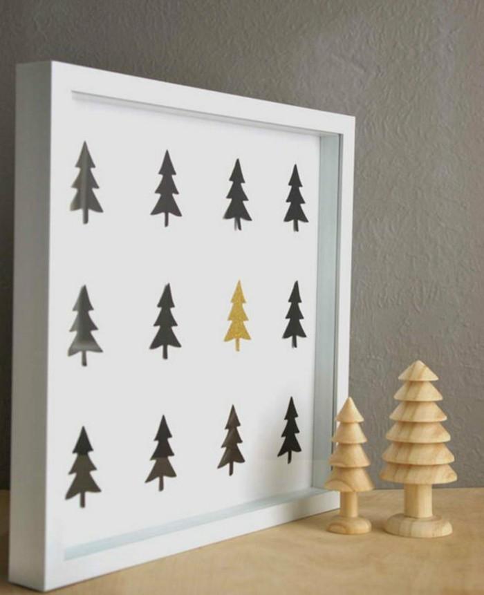 basteltipps-weihnachten-kreative-bastelideen-mit-tannenbaumen