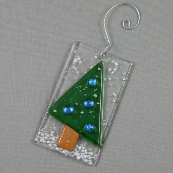 weihnachtsbaum schmuck aus glas sch ne weihnachtsdeko. Black Bedroom Furniture Sets. Home Design Ideas