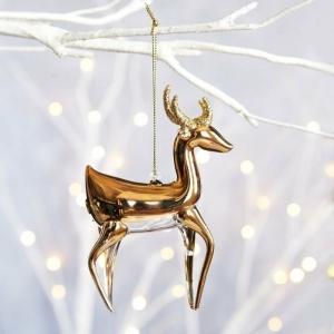 Weihnachtsbaum Schmuck aus Glas - schöne Weihnachtsdeko