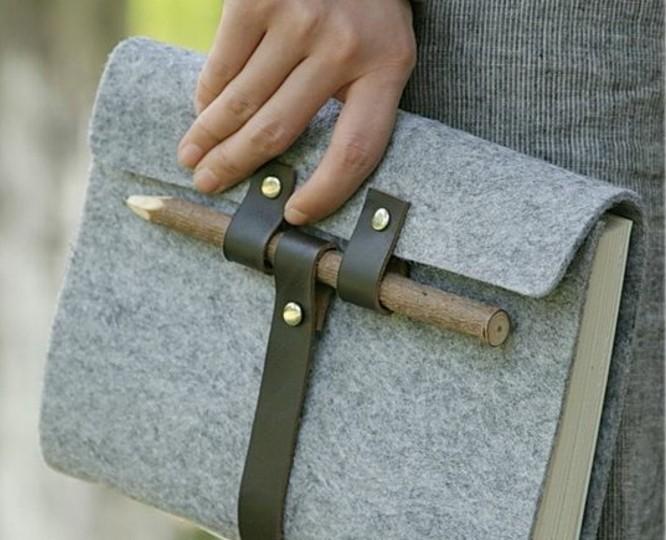 buchumschlag-selber-machen-buchhuelle-naehen-stilvolle-tasche