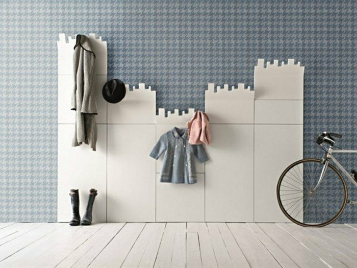 moderne flurmöbel - ausgefallene garderobe ideen - archzine.net - Coole Garderobe