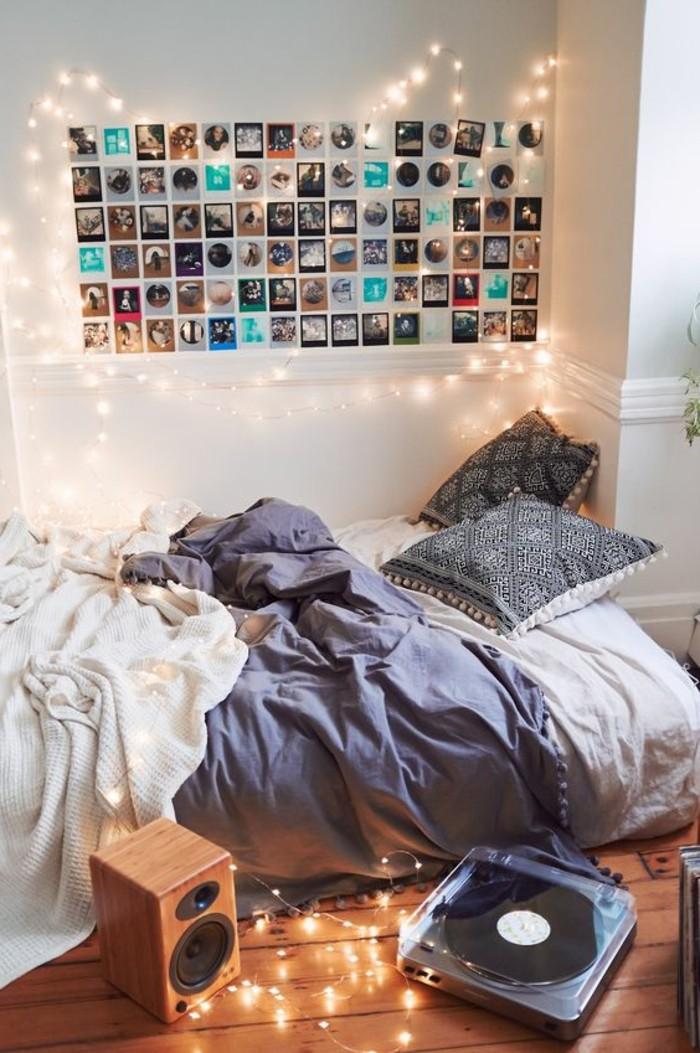 Deko Ideen Schlafzimmer Wand Mit Fotos Und Beleuchtung