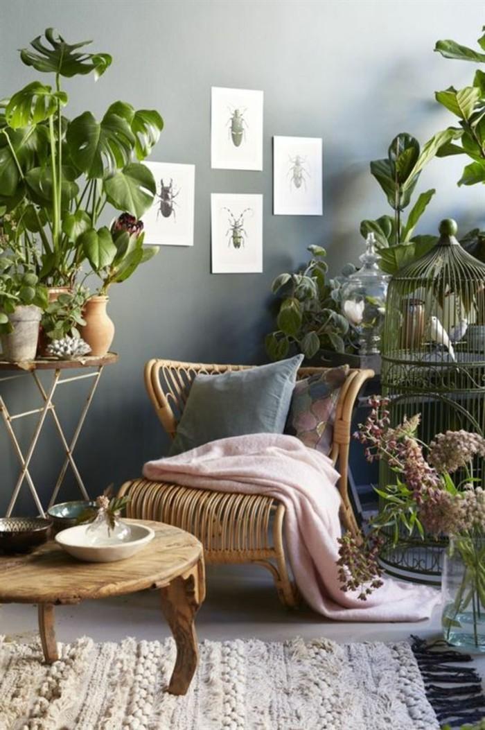 Inspirierende Dekoideen: Kleiner Innen-Gartenbereich