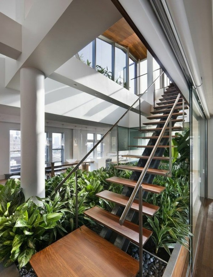 Inspirierende dekoideen kleiner innen gartenbereich for Moderne pflanzen innen