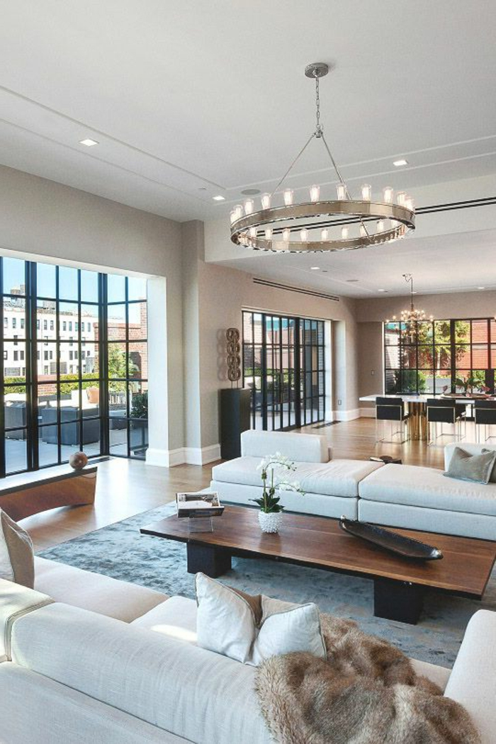 Designer wohnzimmer die ihnen eine vorstellung verschaffen werden - Wohnzimmer beige ...