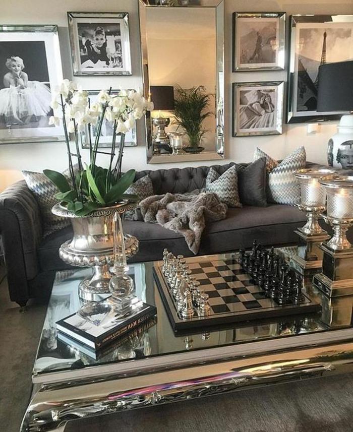 designer-wohnzimmer-in-dunkle-brun-und-beige-gestalten