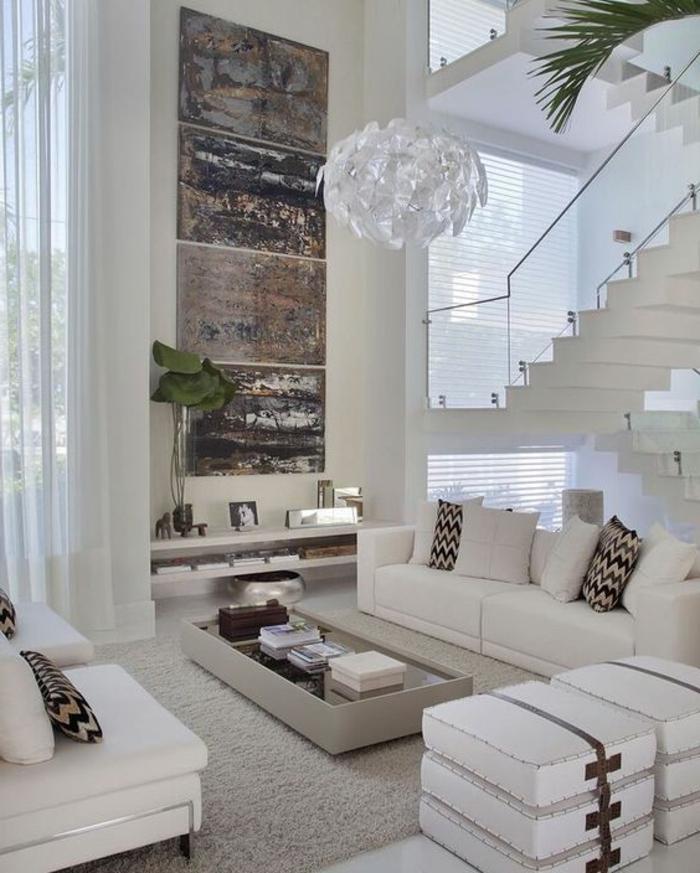 designer-wohnzimmer-in-wei-und-dunkle-braun-gestalten